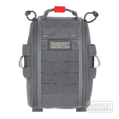 Vanquest FATPack 5x8 Gen 2 First Aid Trauma Pack Organiser Wolf Gray Grey