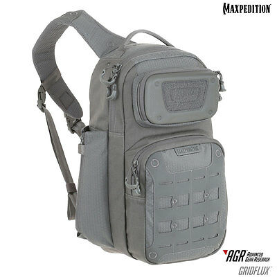 Maxpedition AGR Gridflux Sling Pack Black Grey Tan