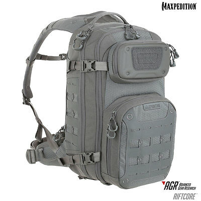 Maxpedition AGR Riftcore Backpack Black Grey Tan