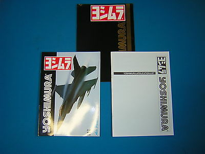 Yoshimura Literature/ Application Lists. Mid 1980's. New Shop Soiled