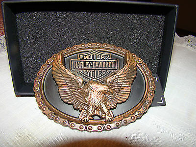 Harley Davidson Belt Buckle H-D The Willie G #1 Logo New In The Box