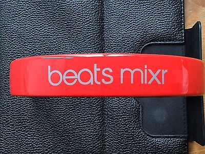 New Replacement Top Headband For Dr Dre Beats Mixr Headphones. Red Colour. UK