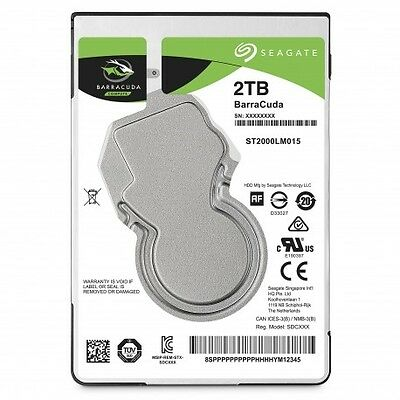 "Disque Dur portable Seagate Barracuda 2""1/2 2000 Go ST2000LM015 (2 To) 5400 trs"