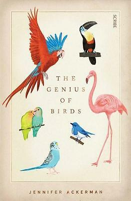NEW The Genius of Birds By Jennifer Ackerman Paperback Free Shipping