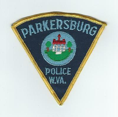 VINTAGE PARKERSBURG, WEST VIRGINIA POLICE (CHEESE CLOTH BACK) patch