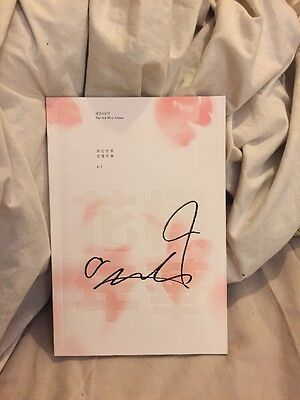 Rare: Bts Jimin In The Mood For Love Pt.1 Signed Autographed Album With Jimin Pc
