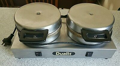 dualit commercial waffle maker iron