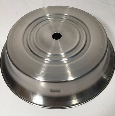New! Lot Of (6) Stainless Steel Restaurant Quality Plate Food Covers