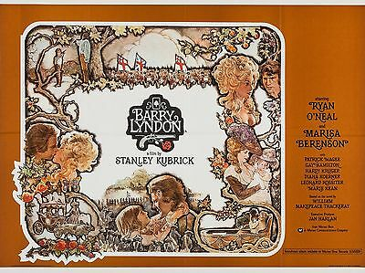 """Barry Lyndon 16"""" x 12"""" Reproduction Movie Poster Photograph"""