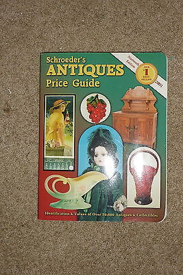 SCHROEDER'S Antiques Price Guide 2001 Paperback 19th Edition Identification