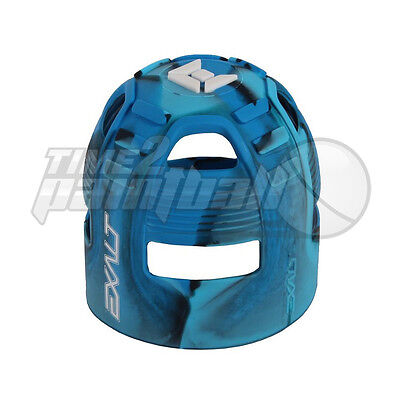 Exalt Tank Grip Blue Swirl **FREE SHIPPING** Paintball Butt Cover