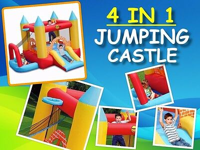 Happy Hop 4 in 1 Jumping Castle 9114