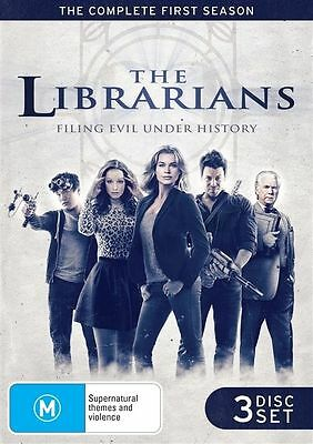The Librarians : Season 1 (DVD, 2015, 3-Disc Set) New and Sealed