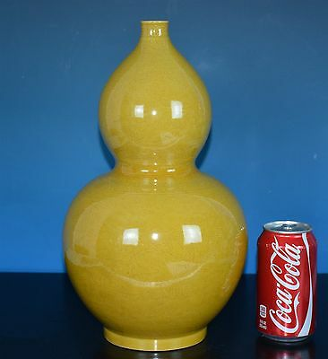 Fine Large Antique Chinese Monochrome Porcelain Vase Marked Kangxi Rare G9466