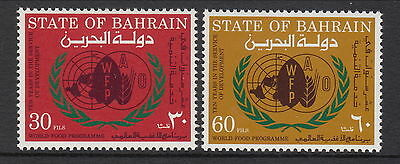 Bahrain 1973 10th anniverasry of World Food Programs
