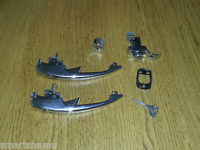VW classic Beetle Matching Key Lock Set, ignition, door, engine - K key profile