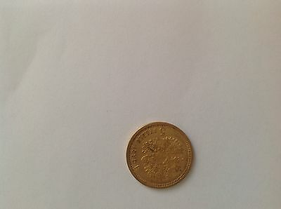 Gold russian coin 5 ruble / rouble 1899
