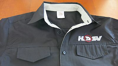 Holden Special Vehicles Black Dress Shirt, Size M, 60$ Cotton 40% Poly L/sleeve
