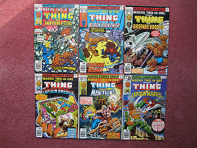 Marvel Two-In-One 32 40 41 42 43 45 Lot Black Panther