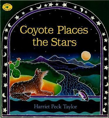 Coyote Places the Stars (Aladdin Picture Books)-ExLibrary