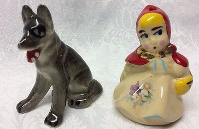 Hull Ceramic Little Red Riding Hood & Wolf
