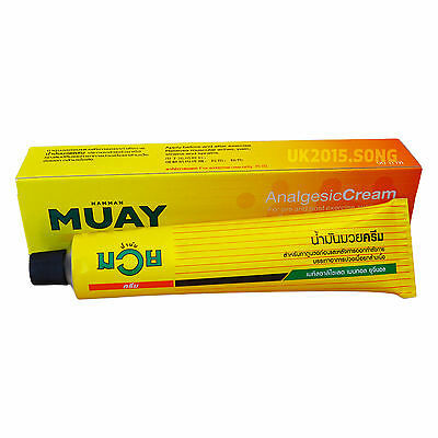 Namman Muay Thai Boxing Analgseic Cream 100g - muscular aches&pain relieves