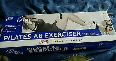 Bally total fitness Pilates Ab Exerciser New 'six pack abs in minutes a day'