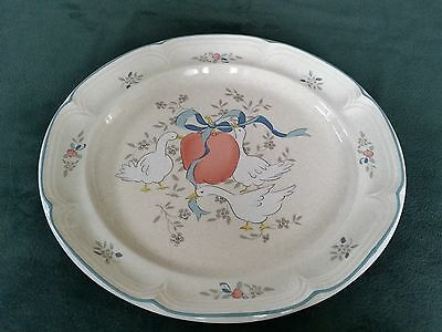 "Vintage International China Company 12"" Stoneware Platter - Marmalade #8868"