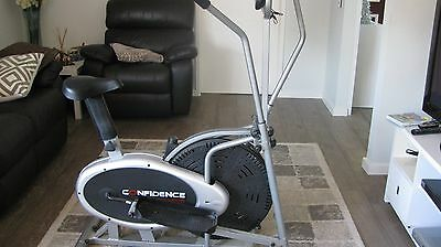 Cross Trainer with Exercise Bike Option. Barely used!!!