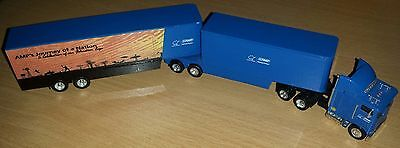 HO 1/87 scale 'AMP' Freightliner B-double truck