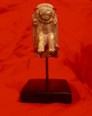 Pre Columbian Vera Cruz  Tied-Down Figure, Ca. 800 AD