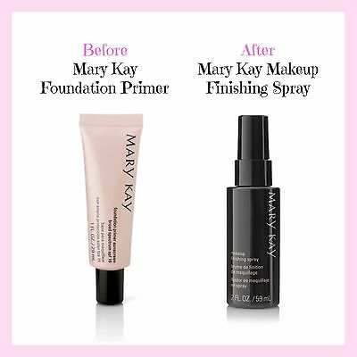 Mary Kay Foundation Primer and Makeup Finishing Spray