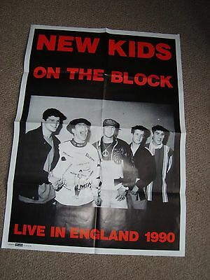 New Kids on the Block Vintage Poster (Folded)