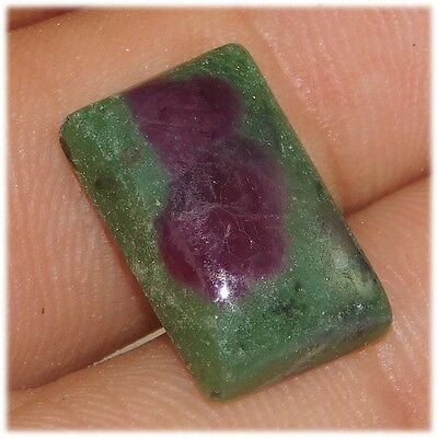 13 Cts Designer A+ 100% Natural Ruby In Zoisite 16X11  Loose Cabochon Gemstone