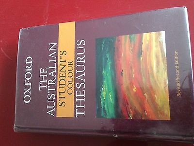 The Australian Student's Colour Thesaurus by Anne Knight (Hardback, 2006)