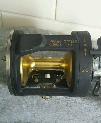 Vintage ABU GARCIA GT345 Overhead Fishing Reel Tested Excellent Condition.