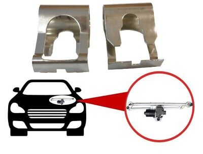 FIAT PUNTO MK1 MK2 I II 1 2 DOBLO FIORINO x2 STEEL WIPER LINKAGE FIX REPAIR KIT