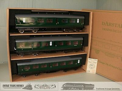 DARSTAED BR Boxed Corridor Coach Set-A (ex-SR BULLIED) Interior Detail NEW !