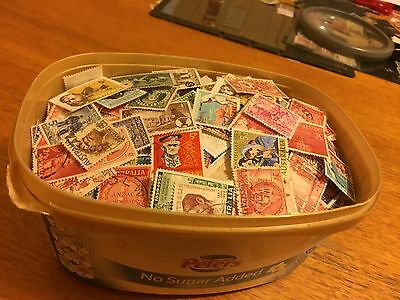 Australia 1.2L Ice Cream Tub Full Of Used Predecimals