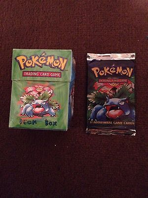 Venusaur Base Set Booster And Deck Box,Collector,Christmas Gifts 1999
