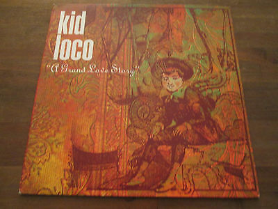 "2xVinyl LP Set KID LOCO - ""A GRAND LOVE STORY"" • Yellow Productions 1997 NM!"