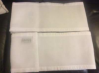 Airwrap Mesh white breathable cot bumper for two sides Melb pick up available