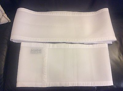 Airwrap Mesh white breathable cot bumper for Four sides Melb pick up available