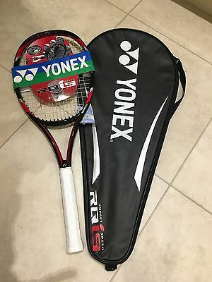 Brand New YONEX RQiS Tennis Racket, Grip Size 4, Including Racket Cover RRP £125