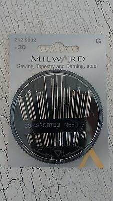 Milward sewing, tapestry & darning needles