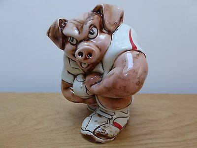 England Rugby Pig by Paul Cardew - Limited Edition 35/100