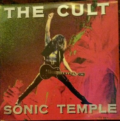 The Cult - Sonic temple LP 1989 Beggars Banquet