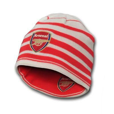 New Arsenal AFC Puma reversible red white performance beanie hat 2014-15 OSFA