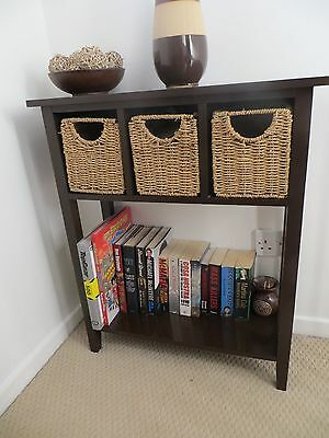 Table/Storage with baskets