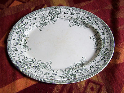 Large Old Wedgwood Oval Serving Plate